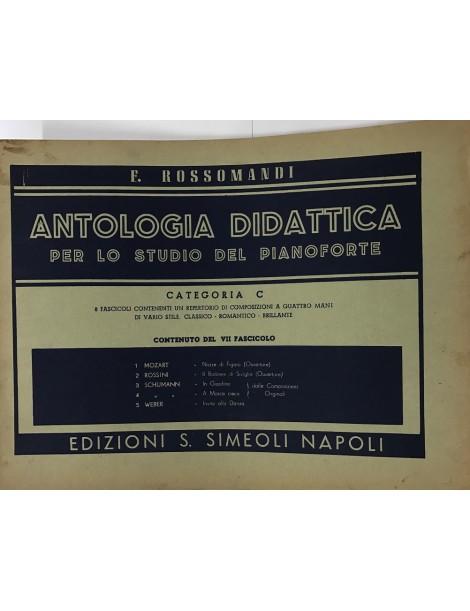 ROSSOMANDI ANTOLOGIA DIDATTICA CATEGORIA C VOL .VII