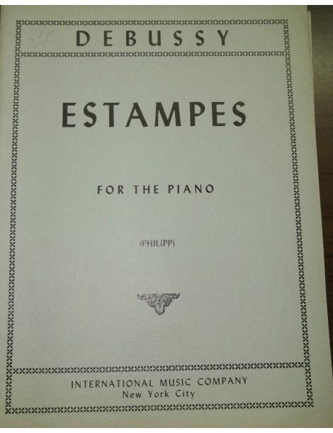 DEBUSSY ESTAMPES PER PIANOFORTE
