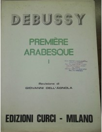 DEBUSSY PREMIER ARABESQUE PER PIANOFORTE