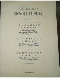 DVORAK DANZE SLAVE OP 46 VOL 1