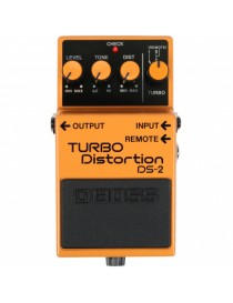 BOSS DS-2 TURBO DISTORTION PEDALE CHITARRA EFFETTO