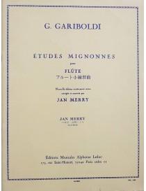 GARIBOLDI ETUDES MIGNONNES PER FLAUTO OP131
