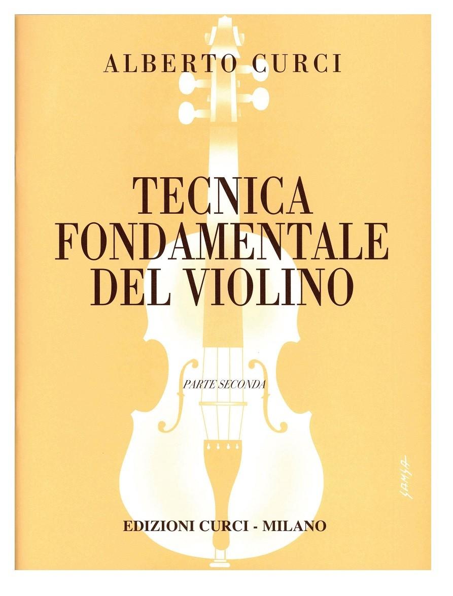 tecnica fondamentale del violino parte 2  CURCI TECNICA FONDAMENTALE DEL VIOLINO PARTE 2 - Gambardella Musica