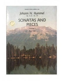 HUMMEL SONATAS AND PIECES VOL 2 PIANO SOLO