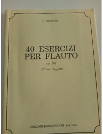HUGUES 40 ESERCIZI PER FLAUTO OP 101