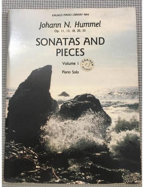 HUMMEL SONATAS AND PIECES VOLUME 1 PIANO SOLO