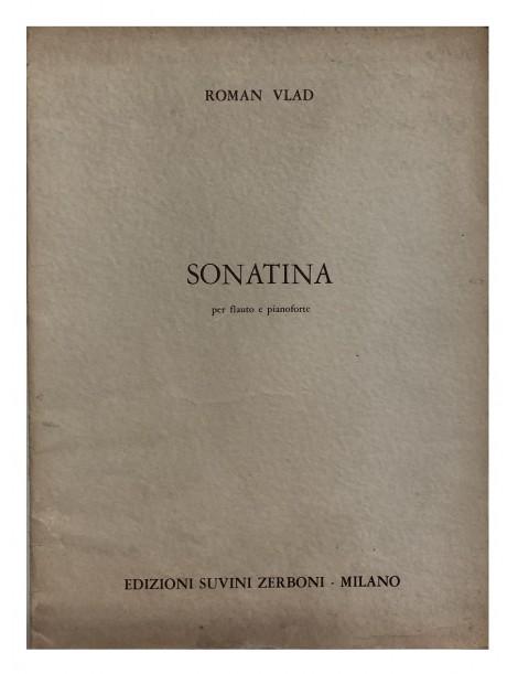 ROMAN VLAD SONATINA PER FLAUTO E PIANOFORTE