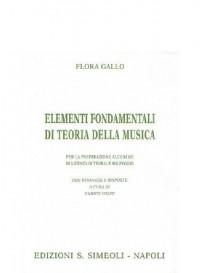 FLORA GALLO ELEMENTI FONDAMENTALI DI TEORIA DELLA MUSICA